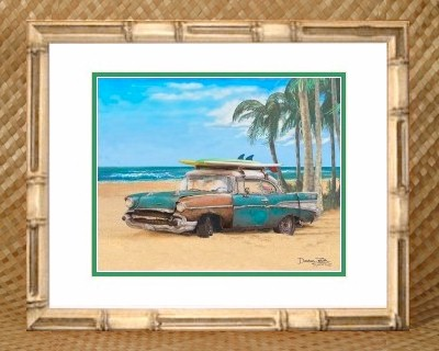 Hawaiian Theme Picture Frame